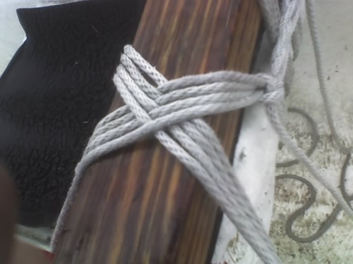 outrigger rope