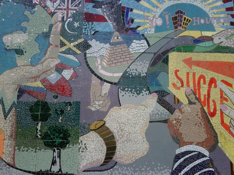 yo houston tile mosaic