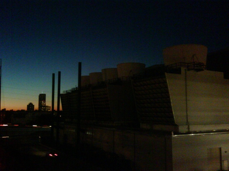 downtown cooling towers chillers