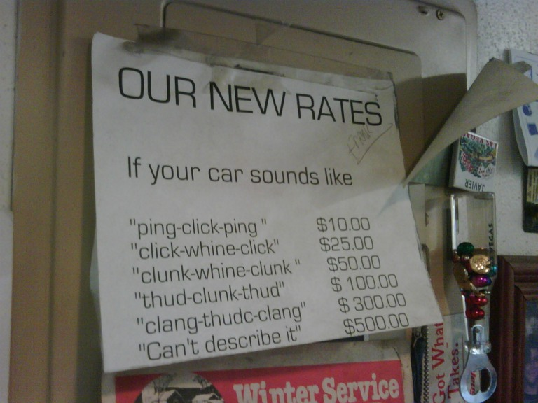 car talk vehicle diagnosis at Javier's Autos Unlimited / Gulf Coast Crawl Shop