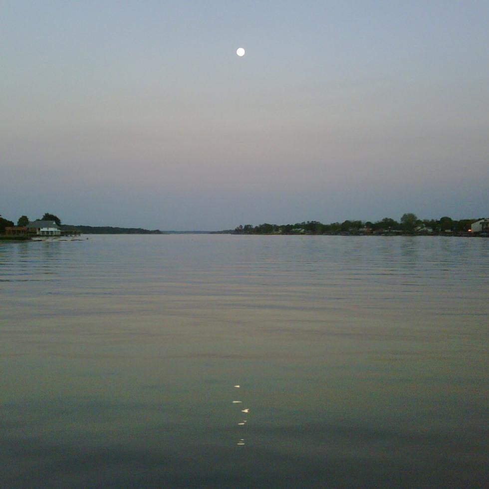 The Moon On Lake Conroe