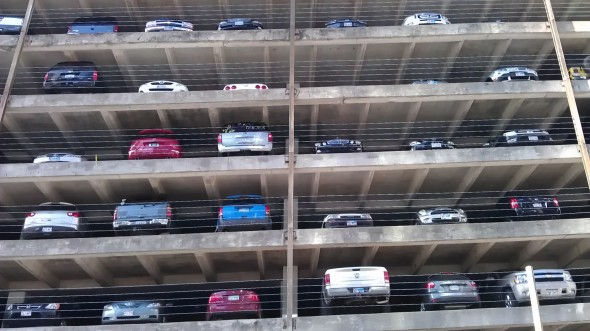 Houston Downtown Parking Garage
