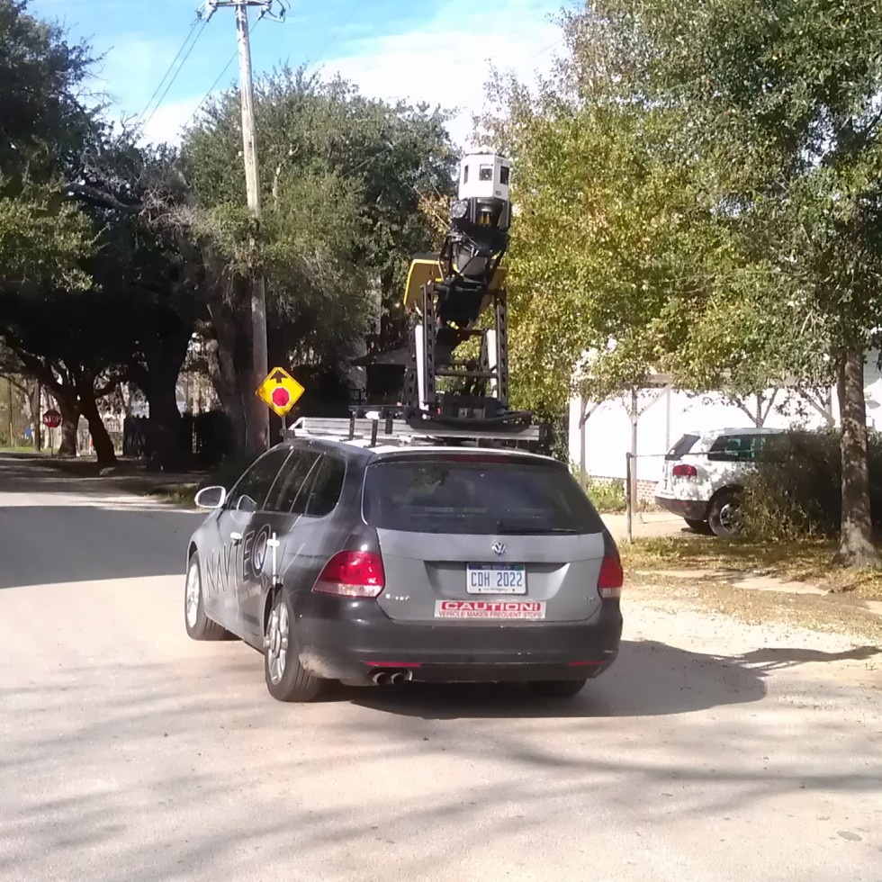 The Navteq Streetview Car