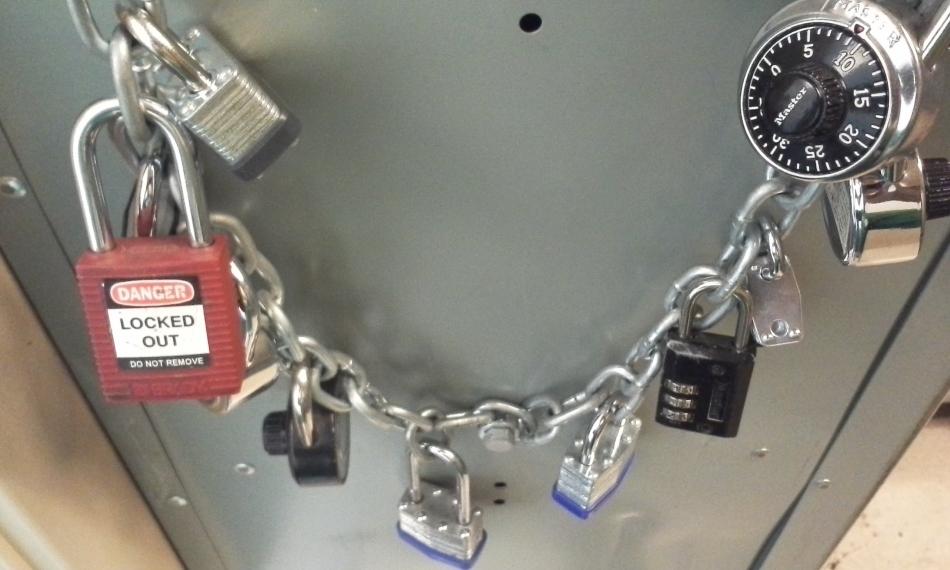 Locker Lockup