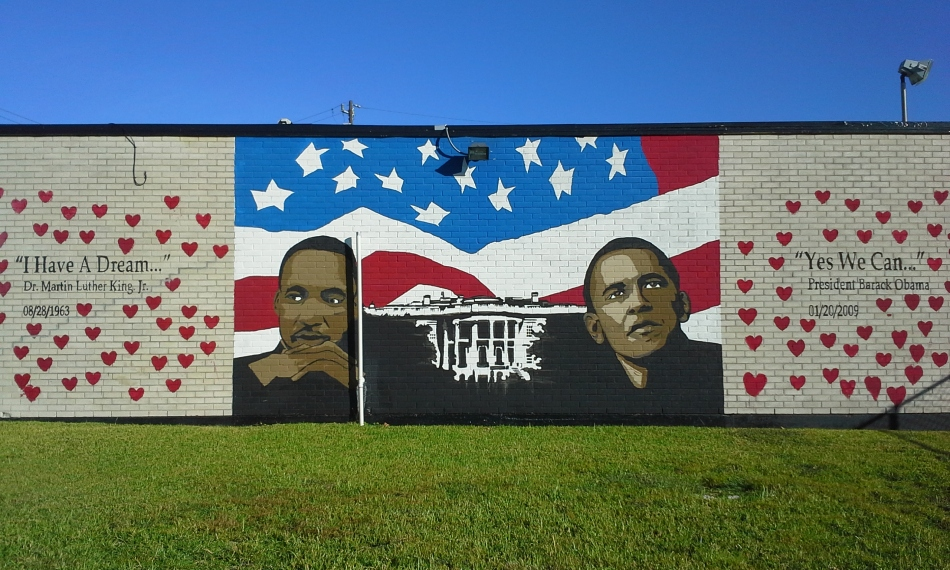 Obama and MLK