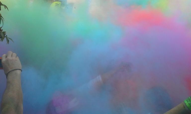 Color Run Houston 2012