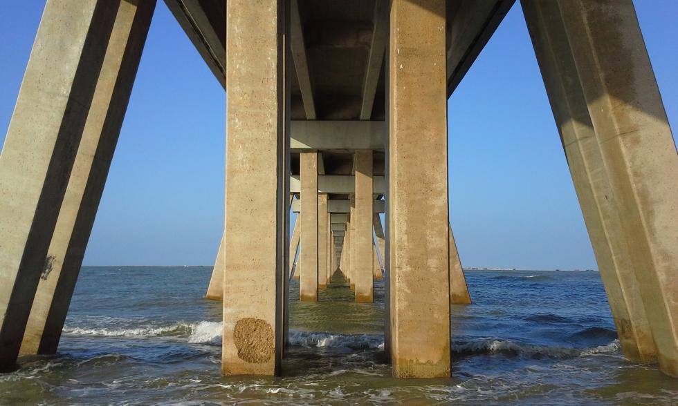 San Luis Pass Toll Bridge