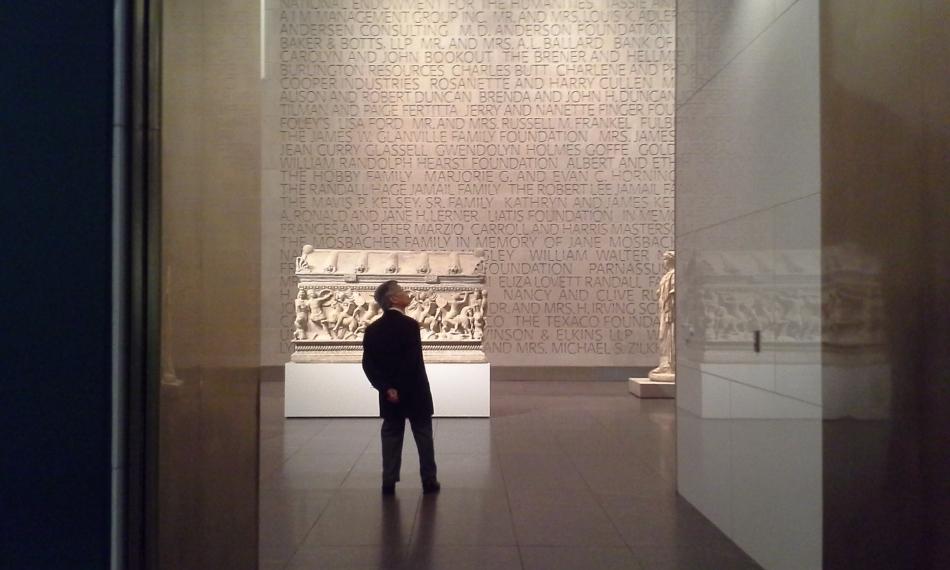 Pondering the Museum of Fine Arts Houston